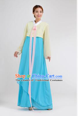 Korean Traditional Dress Women Clothes Show Costume Shirt Sleeves Korean Traditional Dress Dae Jang Geum White Top Rose Red Skirt Yellow Top Blue Skirt