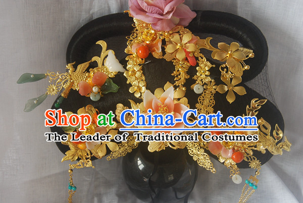 Chinese Ancient Style Hair Jewelry Accessories, Hairpins, Headwear, Headdress, Hair Fascinators, Tang Dynasty Imperial Empress Phoenix Hair Accessories for Women