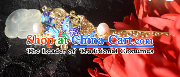 Chinese Ancient Style Imperial Queen Hair Jewelry Accessories, Hairpins, Headwear, Headdress, Hair Fascinators Set for Women