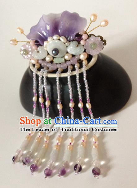 Chinese Ancient Style Hair Jewelry Accessories, Hairpins, Headwear, Hanfu Cosplay Headdress, Hair Fascinators for Women