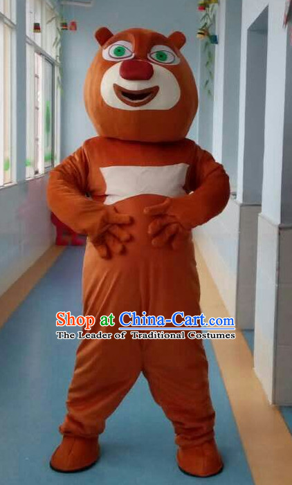 Mascot Uniforms Mascot Outfits Customized Walking Animal Bear Mascot Costumes Mascots Costume