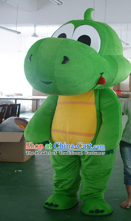 Mascot Uniforms Mascot Outfits Customized Walking Mascot Costumes Cartoon Dragon Mascots Costume
