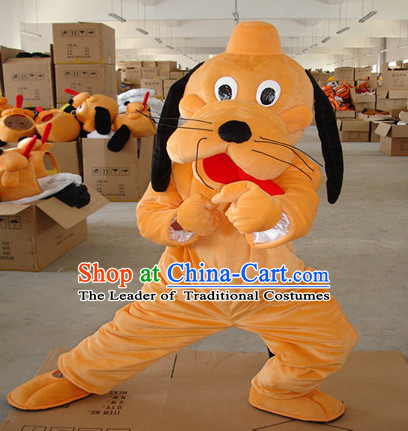 Mascot Uniforms Mascot Outfits Customized Walking Mascot Costumes Animal Cartoon Dog Mascots Costume