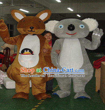 Mascot Uniforms Mascot Outfits Customized Walking Mascot Costumes Animal Cartoon Koala Mascots Costume