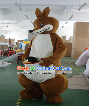 Mascot Uniforms Mascot Outfits Customized Walking Mascot Costumes Animal Kangaroo Mascots Costume
