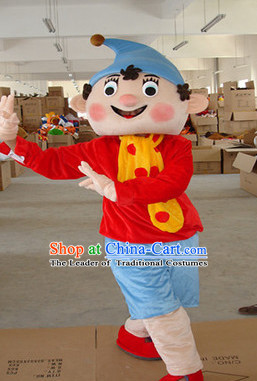 Mascot Uniforms Mascot Outfits Customized Walking Mascot Costumes Cartoon Character Boy Puppet Mascots Costume