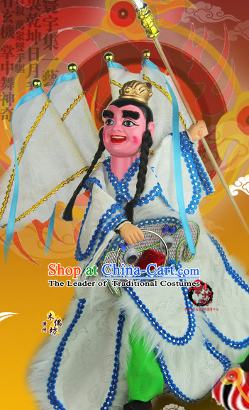 Taiwan Traditional Chinese Ancient Handmade Prince Hand Marionette Puppet Hand Puppets