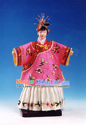Traditional Chinese Handmade Princess String Puppet Hand Puppets Hand Marionette Puppet