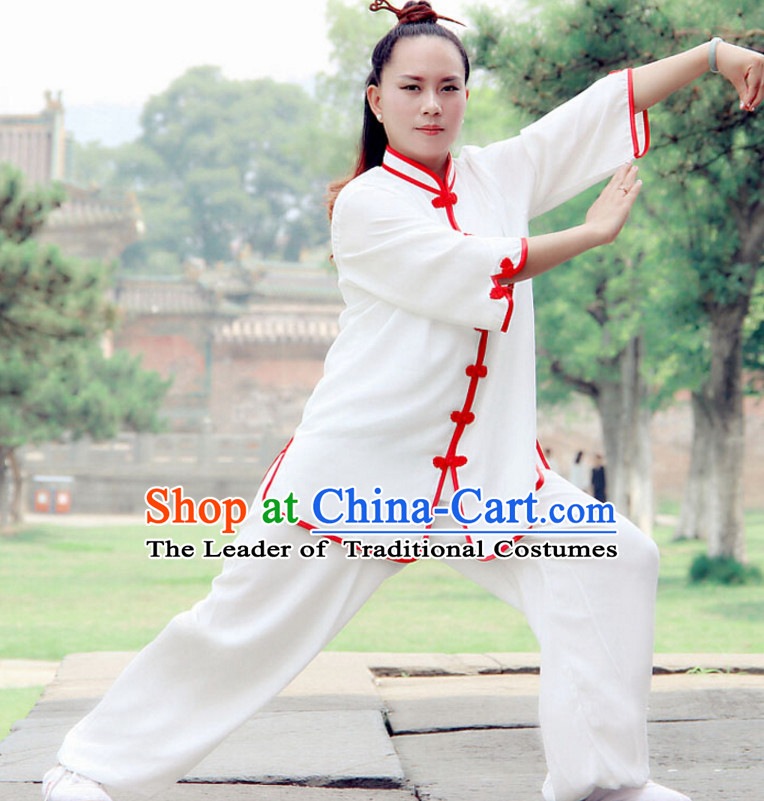 Top Wudang Tai Ji Master Taoist Uniform Taiji Tai Chi Uniforms for Adults Children Men Women Boys Girls