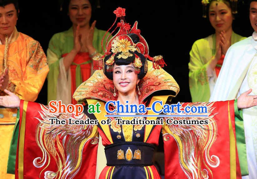 Ancient Chinese Wu Zetian Female Emperor Empress Queen Hair Accessories