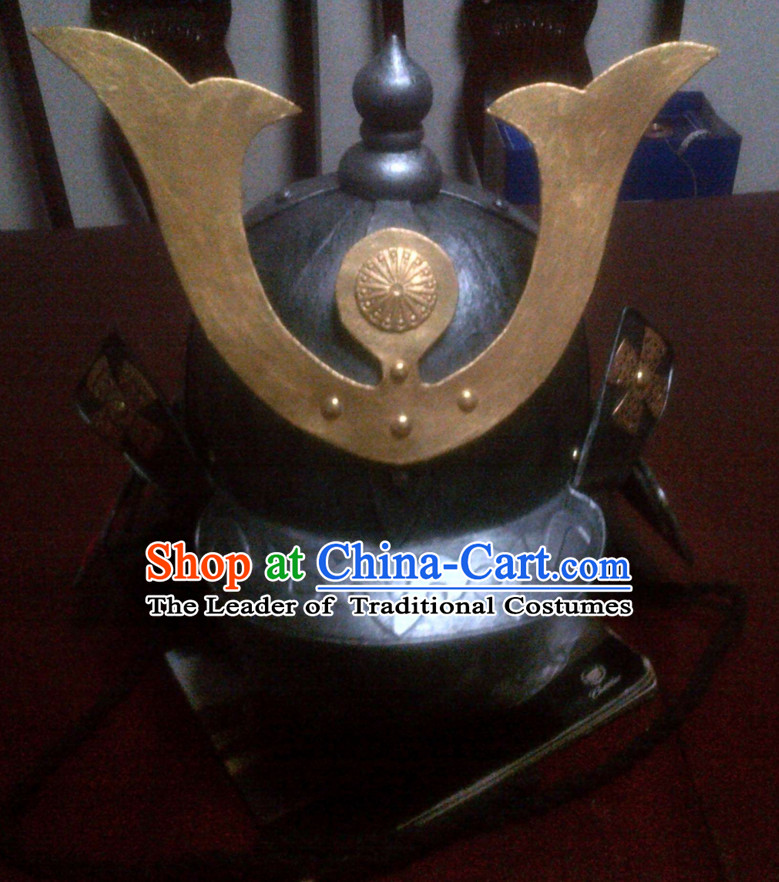 Ancient Chinese General Hat Japanese Helmet for Men