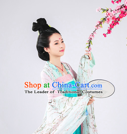 Ancient Chinese Black Wigs Wig for Women