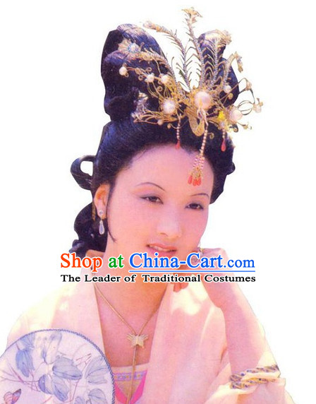 Dream of Red Chamber Wang Xifeng Royal Noblewoman Big Phoenix Hair Accessories for Women or Girls
