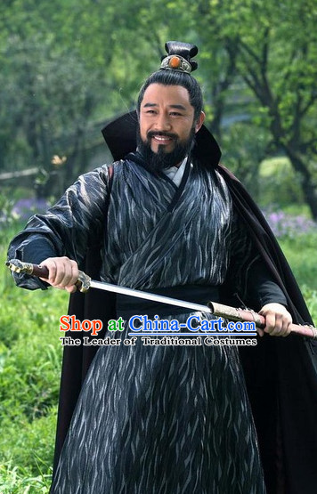 Ancient Chinese Style Knight Costumes Dress Authentic Clothes Culture Traditional National Clothing Complete Set