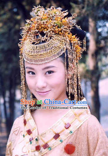 Traditional Chinese Princess Hair Accessories Complete Set