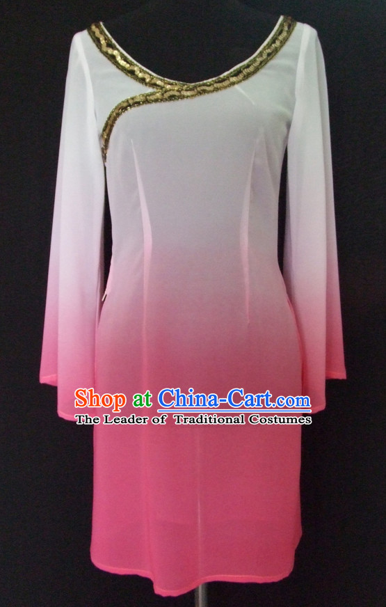 Color Changing Chinese Classical Dance Costumes for Women