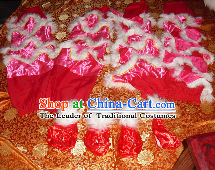 Top Asian Chinese Lion Dance Troupe Performance Suppliers Pants and Claws