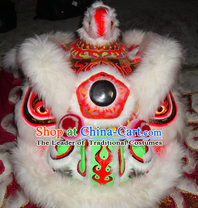 Top Competition and Parade Hok San Lion Dancing Costume Complete Set