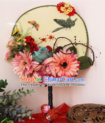 Chinese Traditional Classical Handmade Dance Fan