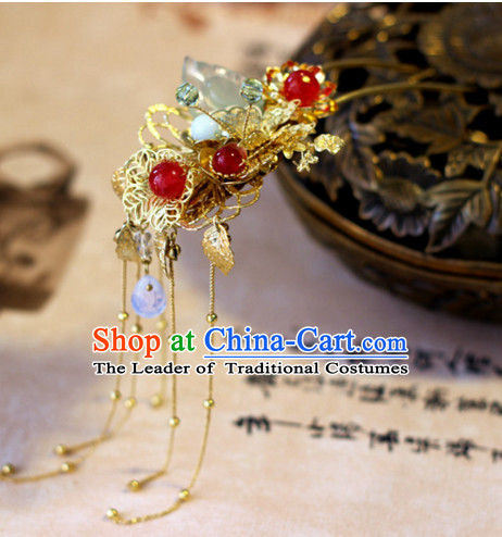 Top Chinese Traditional Wedding Headpieces Hair Jewelry Hairpins