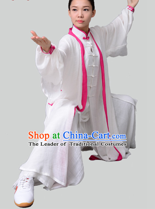 Top Chinese Traditional Competition Championship Tai Chi Taiji Teacher Clothing Suits Uniforms