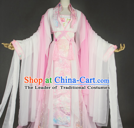 Traditional Chinese Imperial Princess Dress Chinese Hanfu Clothing Cloth China Attire Oriental Dresses Complete Set for Women