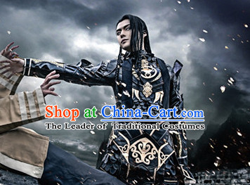 Chinese Costume Superhero Armor Cosplay Costumes China Traditional Armors Complete Set for Men