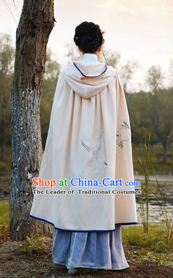 Traditional Chinese Ancient Ming Dynasty Princess Mantle Cape for Women
