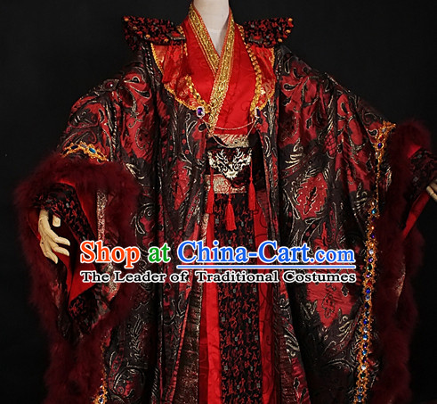 Chinese Ancient Cosplay Costumes Traditional Costume Emperor Imperial Garment