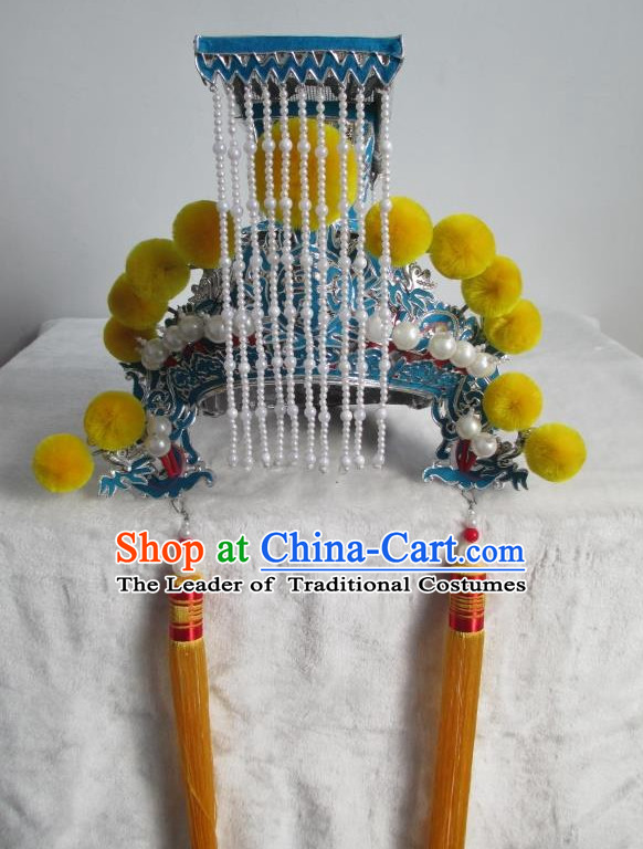 Traditional Chinese Opera King Hat