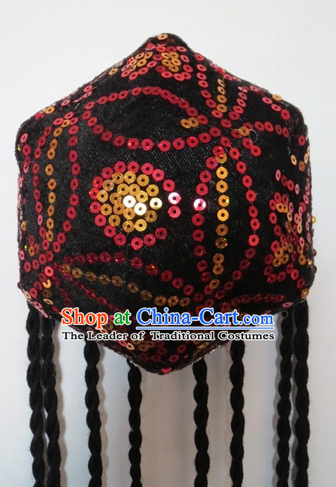 Traditional Chinese Xinjiang Hat for Girls