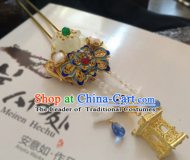 Chinese Ancient Style Headpieces Hair Jewelry for Women