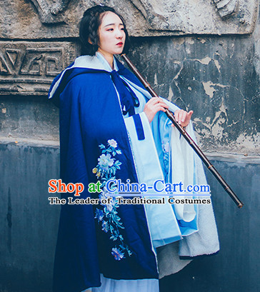 Chinese Traditional Oriental Dress Hanfu Clothing Asian Dresses Fashion Cheongsam Dress China Clothing and Hair Jewelry for Women