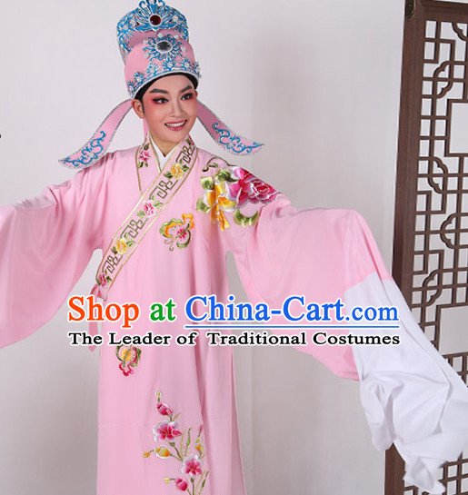 Chinese Opera Costumes Stage Performance Costume Chinese Traditional Costume Drama Costumes Complete Set for Men