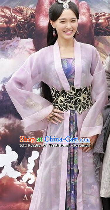 High Quality Chinese Ancient Costume in Women's Theater and Reenactment Costumes Ancient Chinese Clothes Complete Set for Women Girls Children Adults