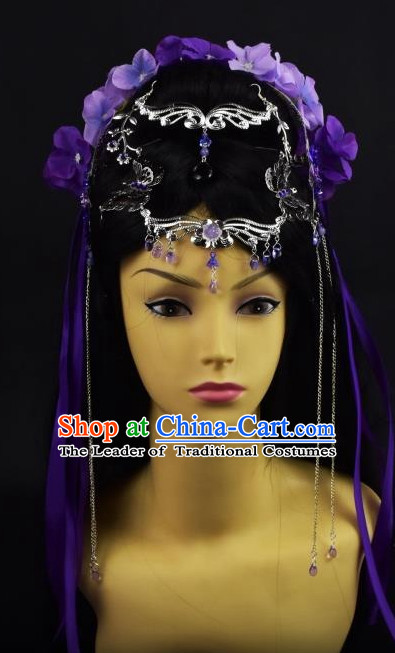 Chinese Princess Hair Style China Hairpieces Chinese Traditional Hairpins and Wigs