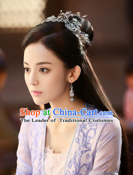 Ancient Chinese Princess Handmade Hair Accessories Headpieces Hair Jewelry