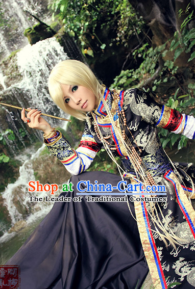 Chinese Ancient Style Cosplay Costume National Costumes Stage Play Dramas Drama Costume for Men