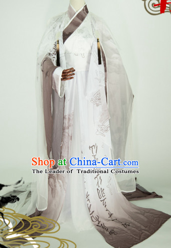 Top Chinese Ancient Male Guzhuang Hanfu Women's Clothing _ Apparel Chinese Traditional Dress Theater and Reenactment Costumes Complete Set