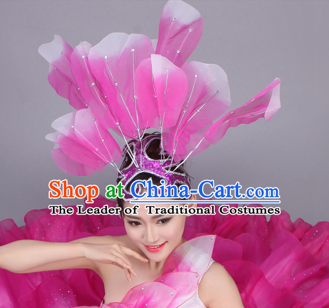 Chinese Dance Hair Accessories Headpiece Headdress Phoenix Crown Hair Decoration Head Hairpin Accessories Comb Wedding Headwear Hair Accessorie Head Dress