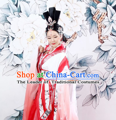 Chinese Ancient Princess Hanfu Wedding Dress Ancient Chinese Princess Women Costumes Complete Set