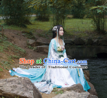 Chinese Yue Opera Costumes Huang Mei Opera Costume Complete Set for Men and Women