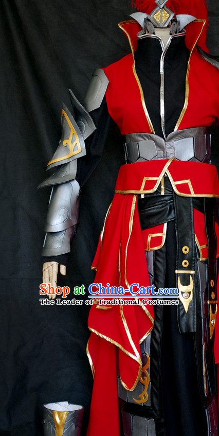 China High Quality Costume Cosplay Armor Archer Costume Avatar Costumes Wonderflex Knight Armorsuit Leather Metal Fantasy Armoury Complete Set