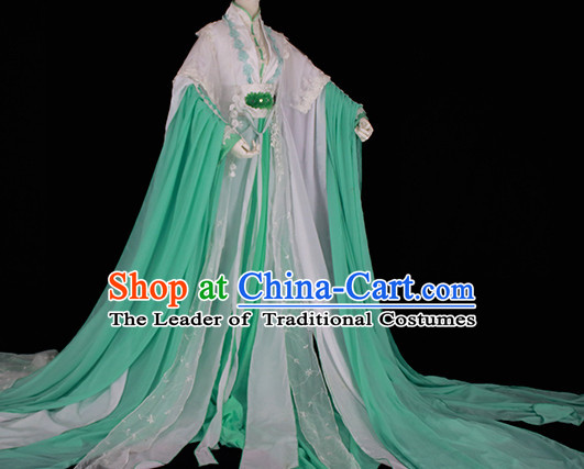 Top Chinese Imperial Royal Princess Traditional Wear Queen Dresses Fairy Cosplay Costumes Ideas Asian Cosplay Supplies Complete Set