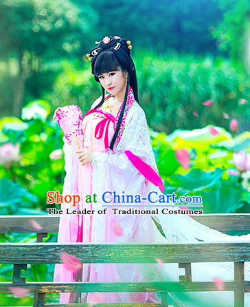 Ancient China Princess Garment Traditional Imperial Queen Costumes High Quality Chinese Empress National Costumes and Accessories Complete Set for Women