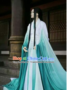 Ancient Chinese Hanfu Han Fu Clothing for Men