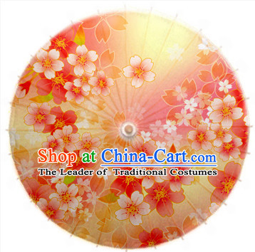 Asian Dance Umbrella China Handmade Classical Flower Umbrellas Stage Performance Umbrella Dance Props