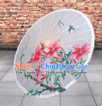 Traditional Rainproof Handmade China Dance Umbrella Stage Performance Umbrella Dancing Props