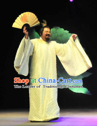 China Ancient Tang Dynasty Prime Minister Opera Costume Drama Stage Costumes Complete Set