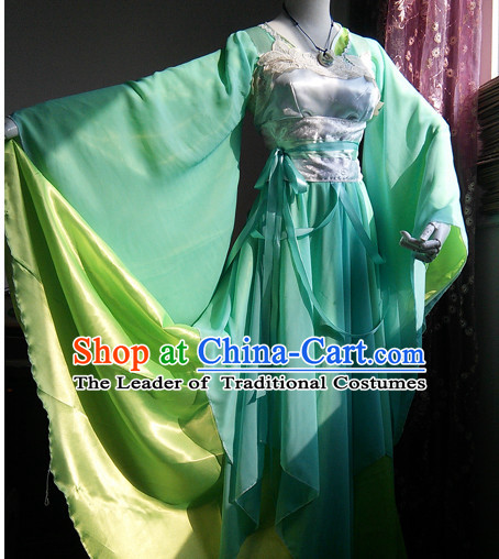 Ancient Chinese Royal Costumes Flower Costume Traditional Chinese Fairy Hanfu Han Fu Costumes Ancient Cosplay Complete Set
